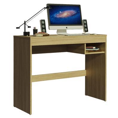 Esta é a Escrivaninha Rubi da Madesa: compacta e na medida certa para otimizar seu espaço de trabalho e estudos no dia a dia.Desenvolvida com materiai