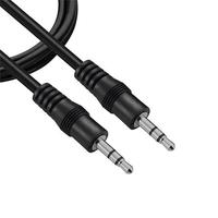 Conhecido como cabo auxiliar para som, este cabo possibilita a conexão de equipamentos com entradas de som tipo P2(3,5mm), sendo um dos lados o transm