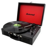 Vitrola Amvox Case em Madeira USB 20W AVT1199 Preta - Bivolt. Conheça a mais nova Vitrola AVT 1199! Possui conecção via bluetooth, entrada AUX e USB,