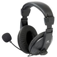 O headset Fone de Ouvido com Microfone Voicer Comfort PH-60BK C3 TECH é ideal para uso em call centers ou residência, pois possui controle de volume i
