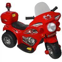 Mini Moto Elétrica Infantil Importway BW002-V Vermelho Seu Pequeno vai se amarrar com a mini moto, feita especialmente para proporcionar mais diversão