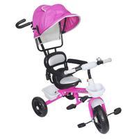 Triciclo Infantil Velotrol 2 em 1 com Capota Rosa BW084RS ImportwayCom o Triciclo infantil velotrol a diversão da garotada é garantida. Pode ser utili