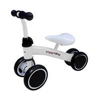 Triciclo Balance Infantil Branco BW107BR ImportwayO Triciclo Balance da Importway é diversão garantida para a criançada! Ele estimula o equilíbrio e a