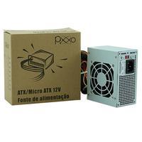Fonte SFX 200W 20/24 Pinos, Pixxo Box - PL200WRPBG