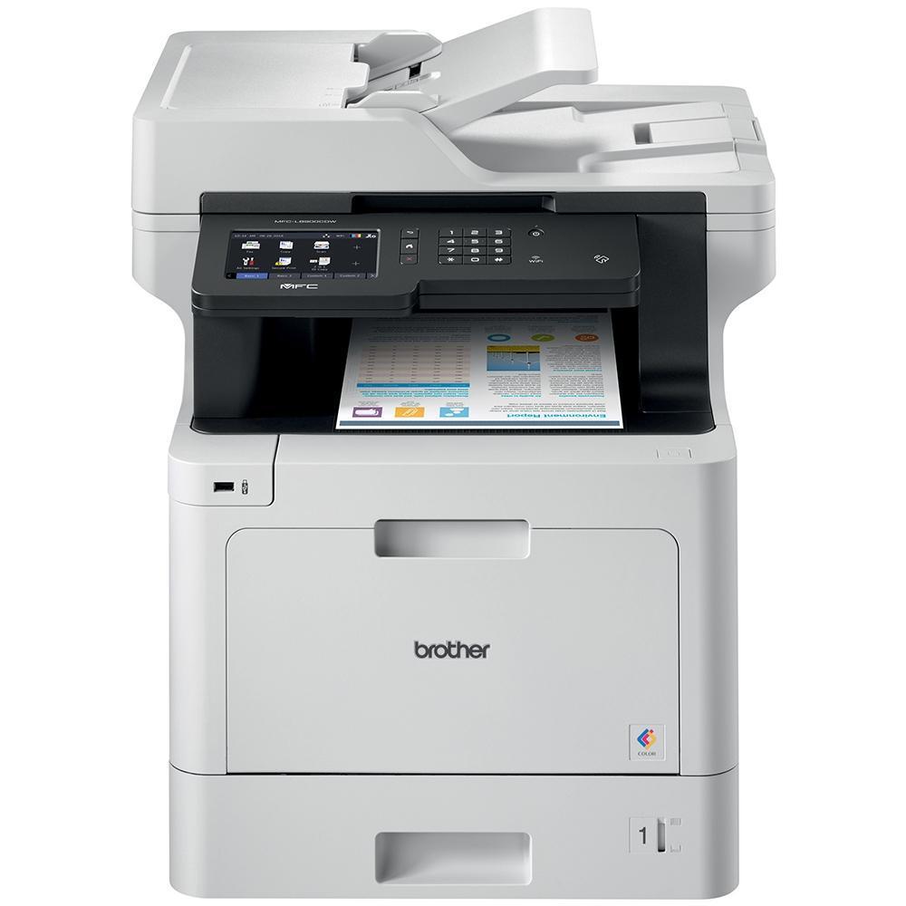 Imagem de Impressora Multifuncional Brother Laser Colorida MFC-L8610CDW